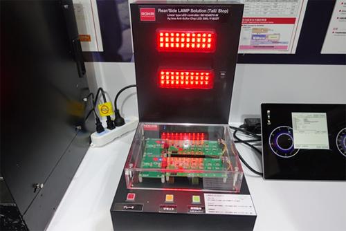 完全无银的高亮度红色LED演示