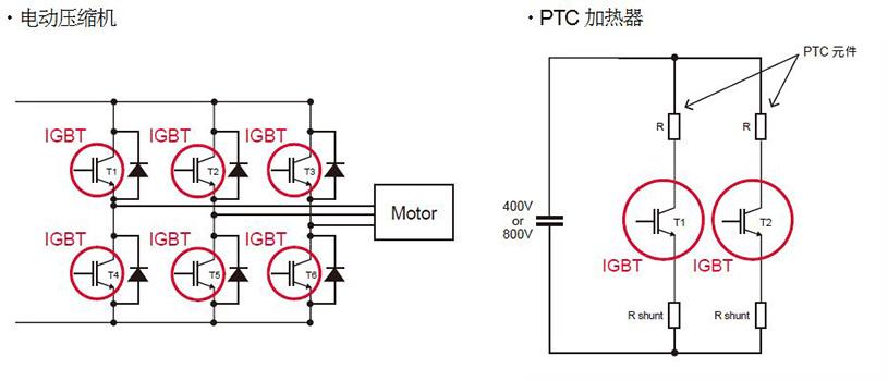 电动压缩机 / PTC加热器需