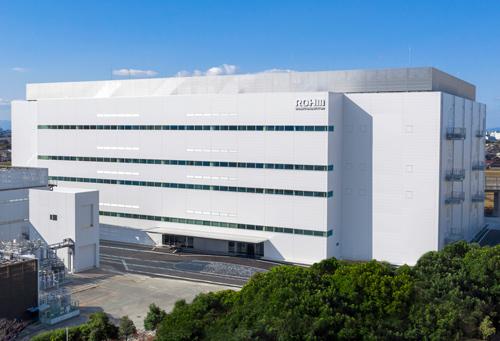 罗姆阿波罗筑后工厂的环保型新厂房竣工,为SiC功率元器件生产增能!0