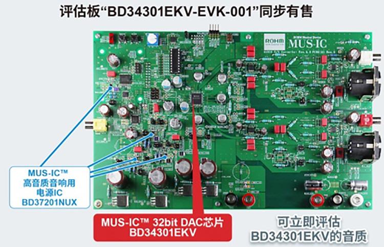 """评估板""""BD34301EKV-EVK-001""""同歩有售"""