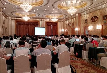 往届ROHM技术研讨会举办现场